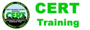 Orange County CERT training
