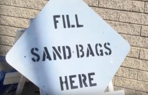 West Orange County CERT - Fill Sandbags