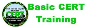 CERT Basic Training - West County CERT - Serving the Western Orange County communities of Seal Beach, Cypress, Los Alamitos, La Palma, Buena Park, Westminster, and Rossmoor California