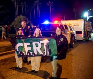 West Orange County CERT - 2016 Seal Beach Christmas Parade