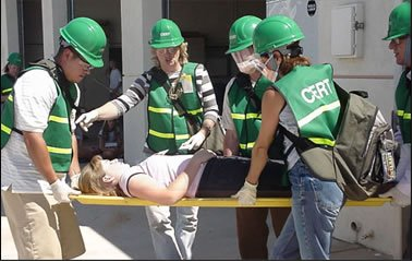 West Orange County CERT - Rescue Team at CERT Basic Training