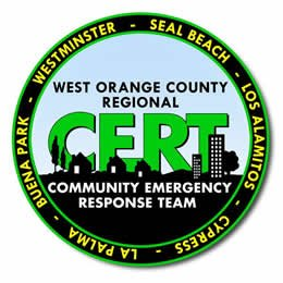 West County CERT Program - Serving the Western Orange County communities of Seal Beach, Cypress, Los Alamitos, La Palma, Buena Park, Westminster, and Rossmoor California
