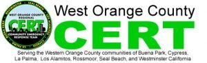 West Orange County CERT - Serving the Western Orange County communities of Seal Beach, Cypress, Los Alamitos, La Palma, Buena Park, Westminster, and Rossmoor California