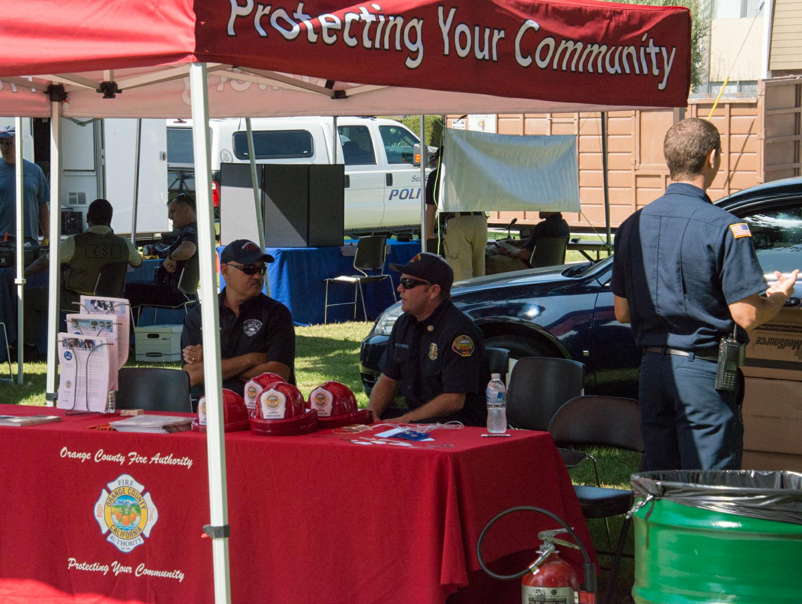 West Orange County CERT at the 2017 Cypress Festival