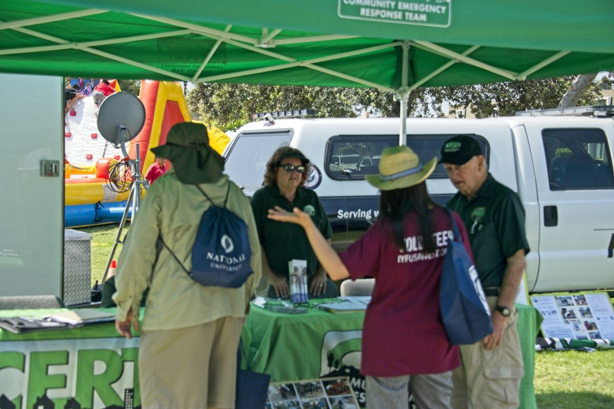 2018 Cypress Festival, Oak Knoll Park, West County CERT And Emergency Services