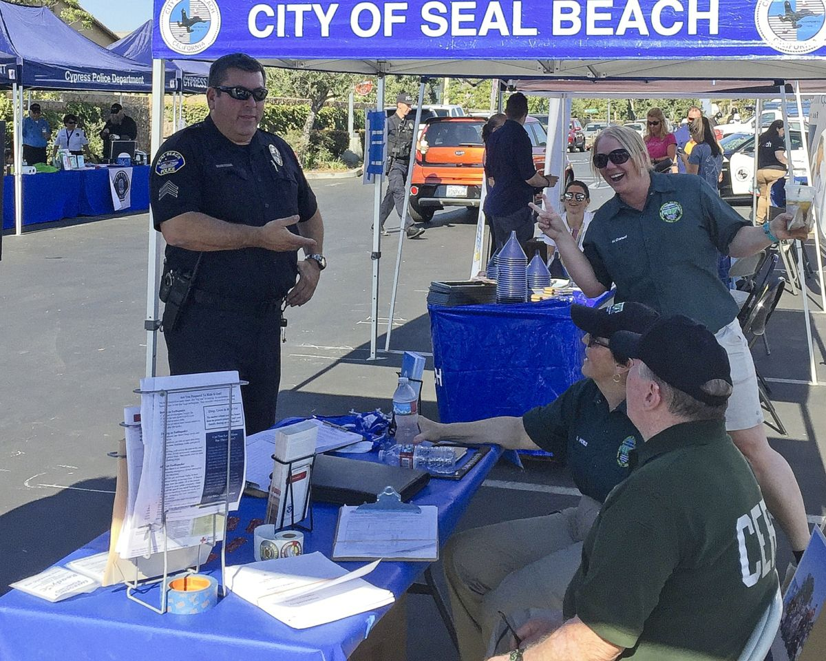 2018 National Night Out - Seal Beach, Los Alamitos, Rossmoor, Cypress