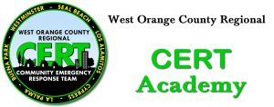 West Orange County CERT Academy training program