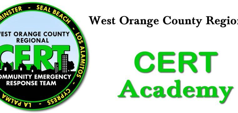 CERT Academy – August 2018, Weekend #1