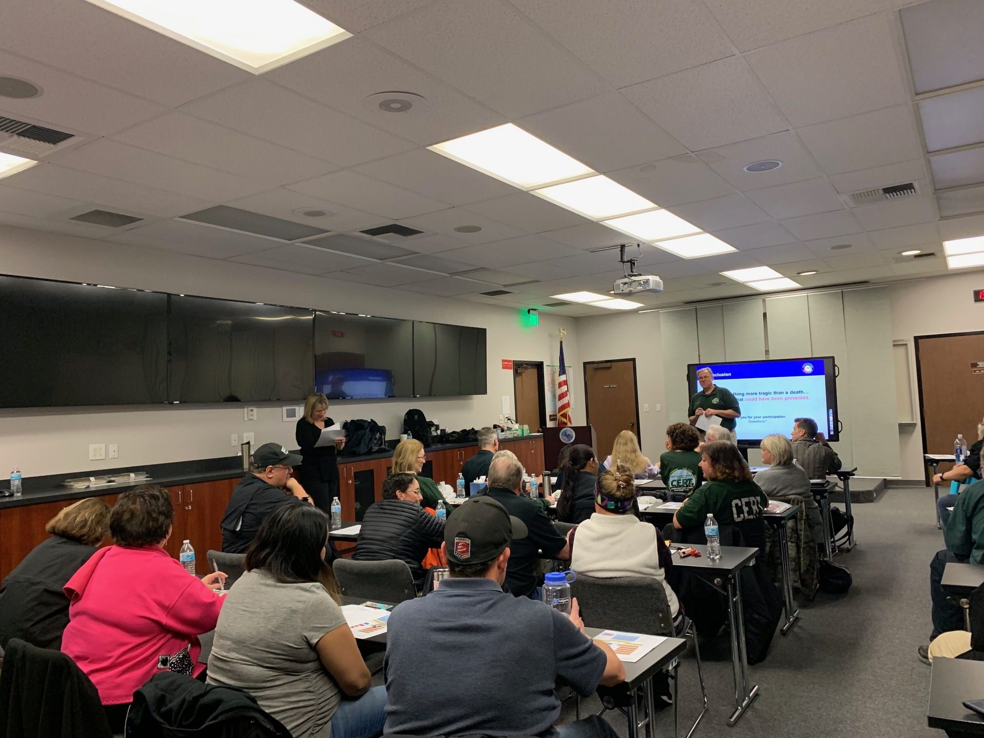 West Orange County CERT - February Team Meeting