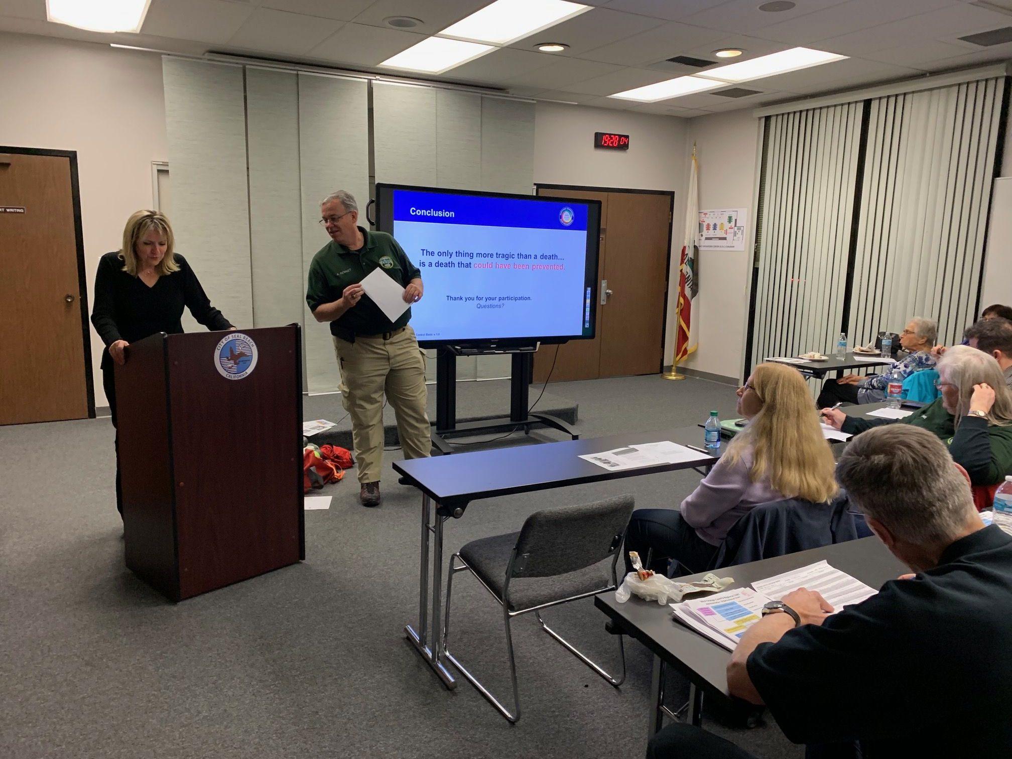 West Orange County CERT - February Team Meeting