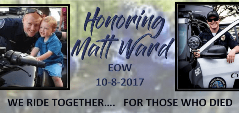 Honoring Matt Ward