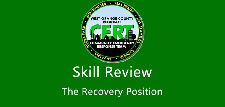 Skill Review: The Recovery Position