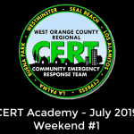 WOC CERT 2019 July Academy Week 1