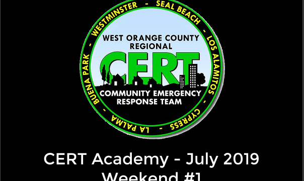 July 2019 CERT Academy – Week 1 – What an Amazing Group